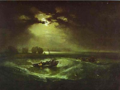 Снежная буря, Уильям Тернер - описание картины