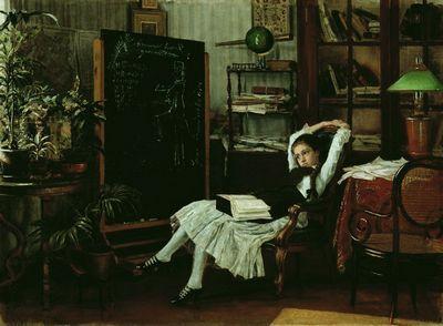 «Инок», Константин Савицкий — описание картины