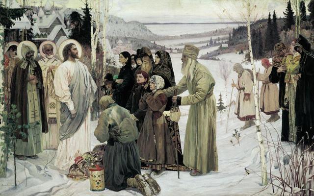 «Философы», Михаил Васильевич Нестеров — описание картины