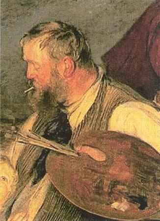 Фриц Таулов, картины и биография