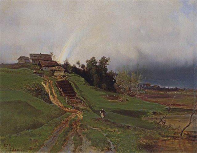 Радуга, Алексей Кондратьевич Саврасов, 1875