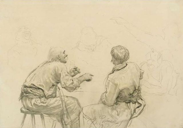 Картина «Запорожцы пишут письмо турецкому султану», Репин