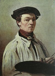 Порыв ветра, Жан-Батист Камиль Коро - описание картины