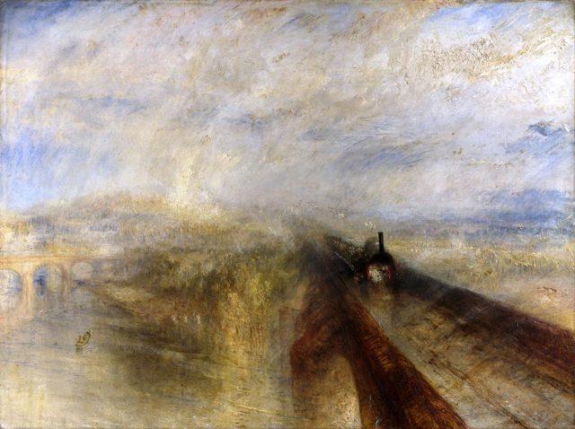 «Извержение Везувия», Джозеф Райт — описание картины