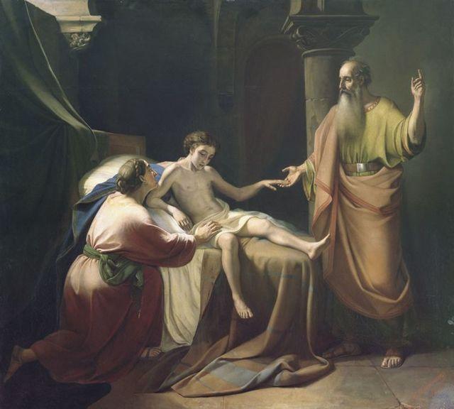 Картина Пророки царь Соломон и Иезекииль, неизвестный художник