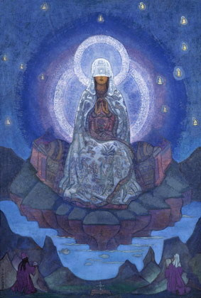 «Матерь Мира», Рерих — описание картины