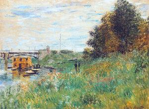 «Пруд с кувшинками (Японский мостик)», Клод Моне — описание картины