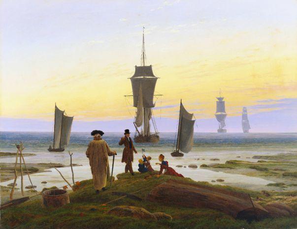«Утро в горах», Каспар Давид Фридрих — описание картины