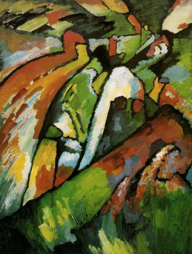 Импровизация 7, Василий Васильевич Кандинский, 1910