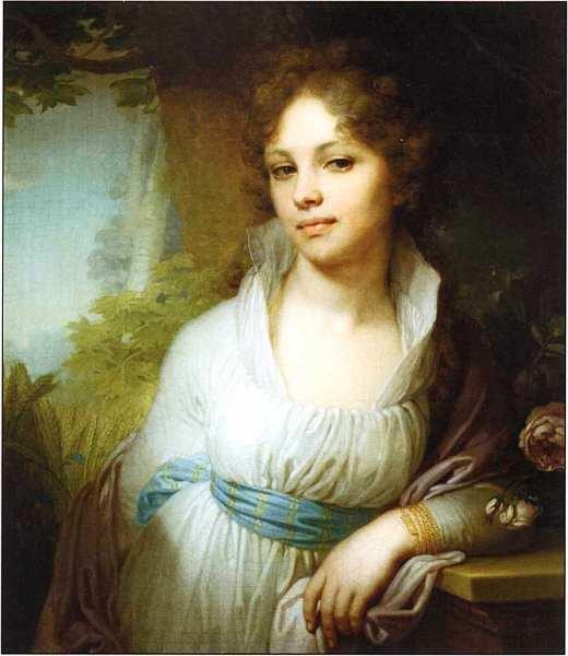 Автопортрет в красном плаще, А. О. Орловский, 1809