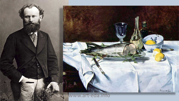 Слива, Эдуард Мане - описание картины