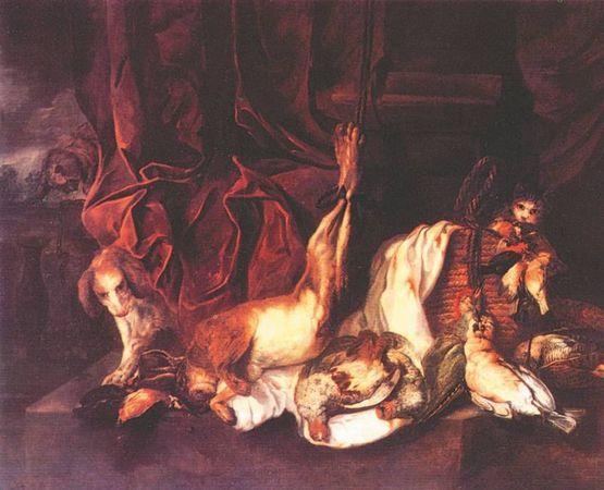 Караульня, Давид Тенирс Младший, 1642