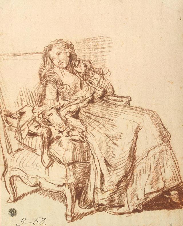 Арлезианка. Портрет мадам Жину, Ван Гог
