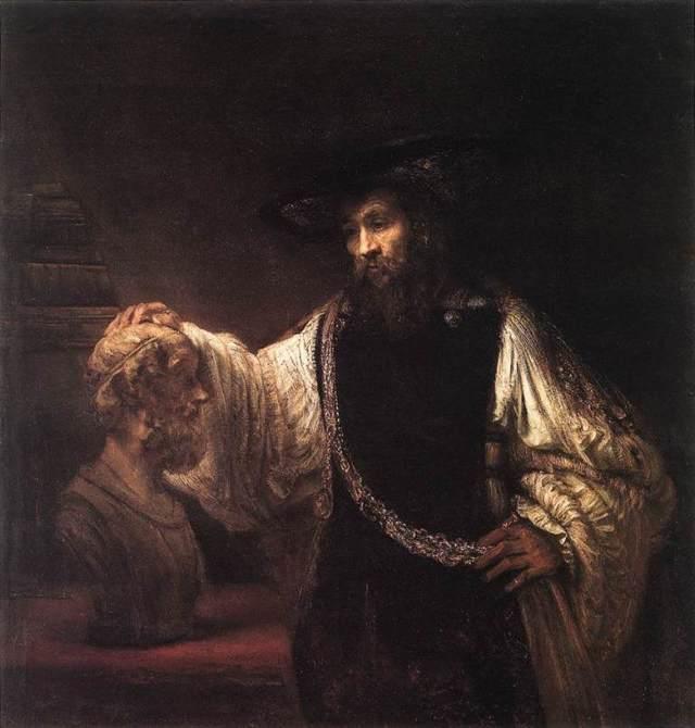 «Художник в мастерской», Рембрандт — описание картины
