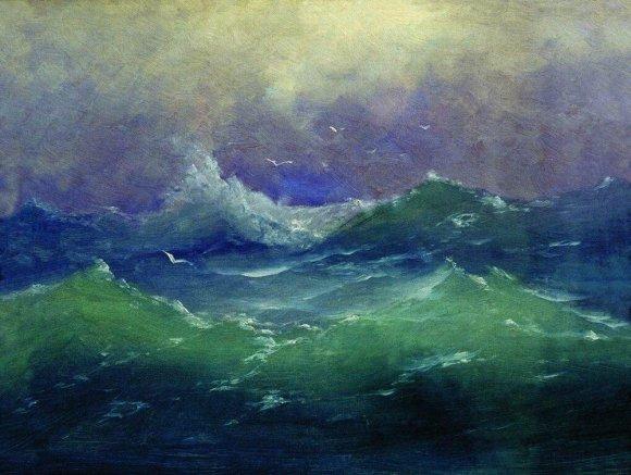 «Волны», Архип Иванович Куинджи — описание картины