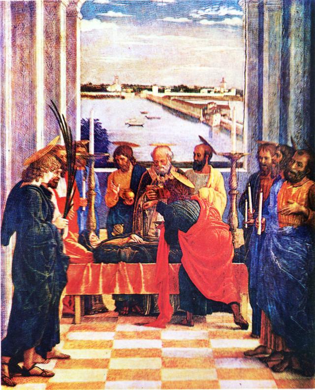 Святой Себастьян, Андреа Мантенья