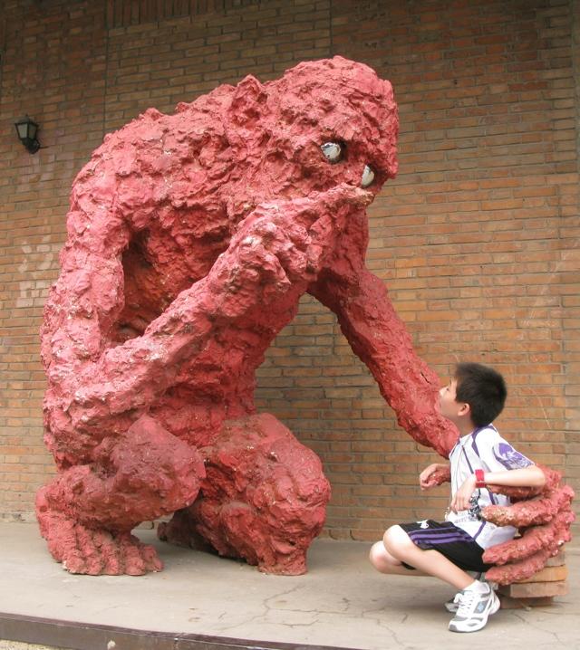 Арт-зона (Зона искусств) 798, Пекин, Китай - рассказ об экспозиции