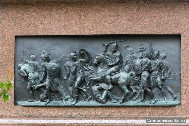 Памятники и скульптуры в Москве