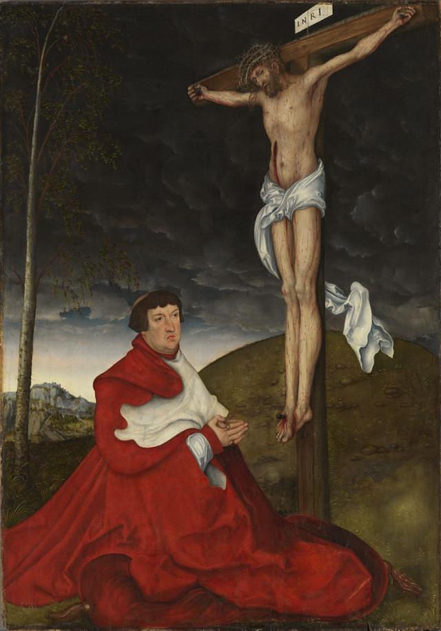 Портрет Иоганна Фридриха Великодушного, Лукас Кранах Старший, 1509