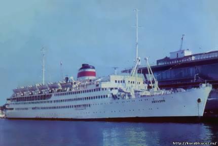 Аванпорт в Гавре. Набережная Су-Амгон. Корабль, выходящий из порта - Писсарро, 1903