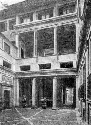 Нимфа Каллисто на колеснице Юпитера, Бальдассаре Перуцци