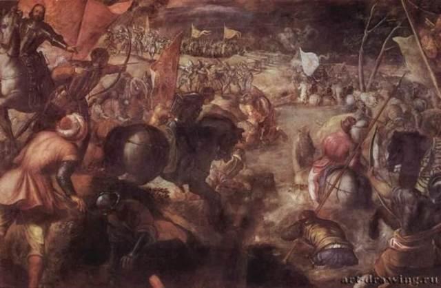 «Тайная вечеря», Тинторетто — описание картины
