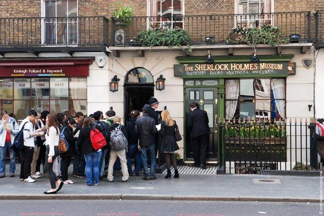 Музей Шерлока Холмса в Англии, Лондон: фото и видео