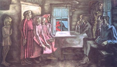Картина Плотогоны, Николай Иванович Андронов