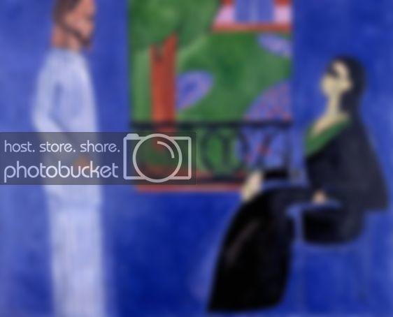 Разговор, Анри Матисс - описание картины