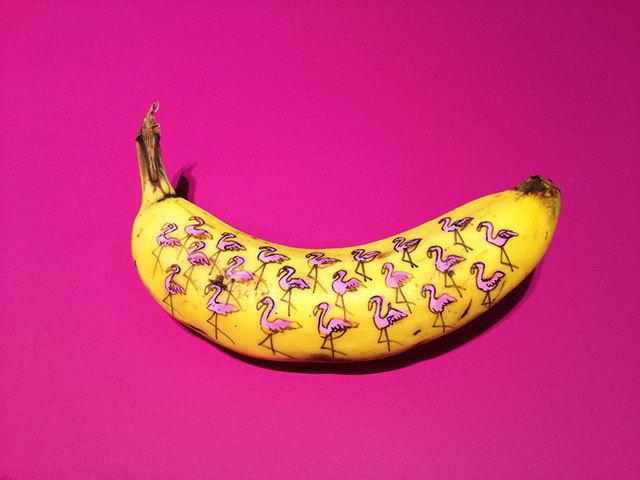 Картина «Банан», Энди Уорхол — описание