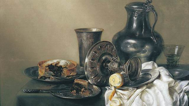 Завтрак с крабом, Виллем Клаас Хеда, 1648