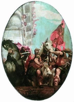 Похищение Европы, Мартен де Вос, 1580