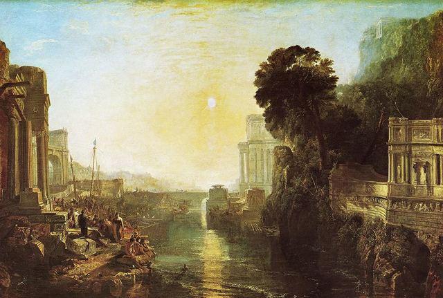 Рыбаки в море, Уильям Тернер - описание картины