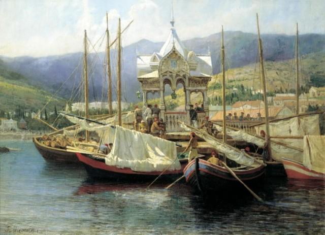 Дедушка русского флота, Мясоедов, 1871