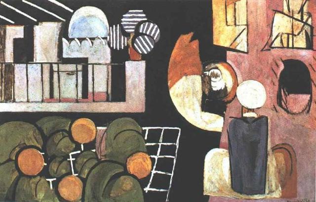 Биография Анри Матисса, список картин