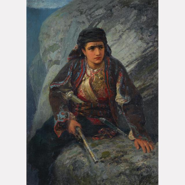 Портрет Надежды Михайловны Сапожниковой, Николай Фешин — описание