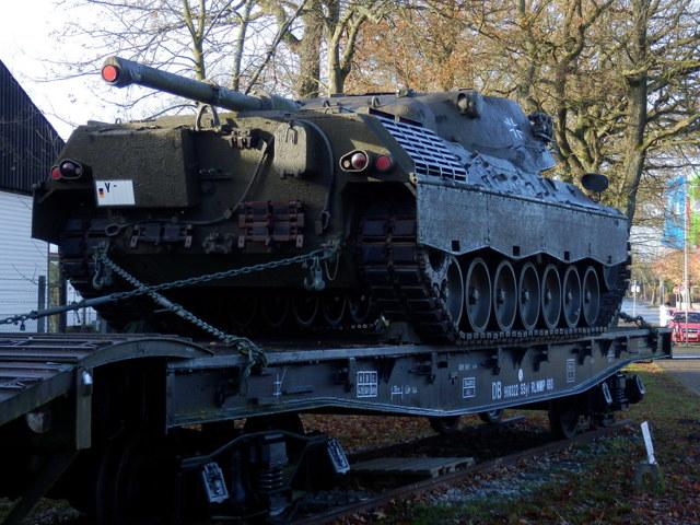 Музей танков в Мюнстере, Германия