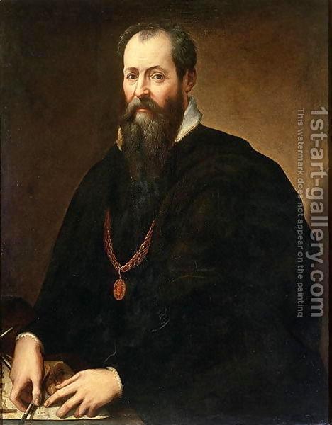 Лоренцо Великолепного, Джорджо Вазари