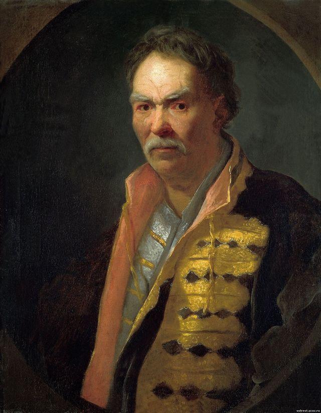 Портрет напольного гетмана, Иван Никитич Никитин