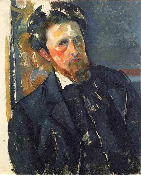 Портрет Иоахима Гаске, Поль Сезанн