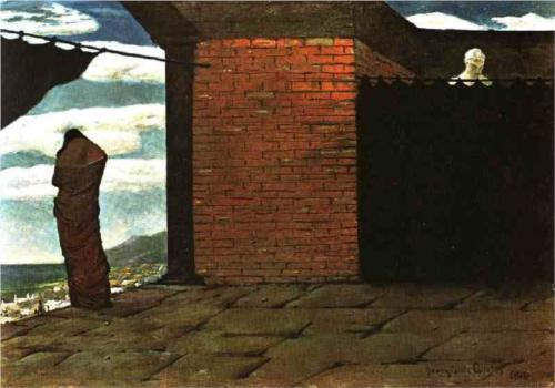 Итальянские площади на картинах Джорджо де Кирико