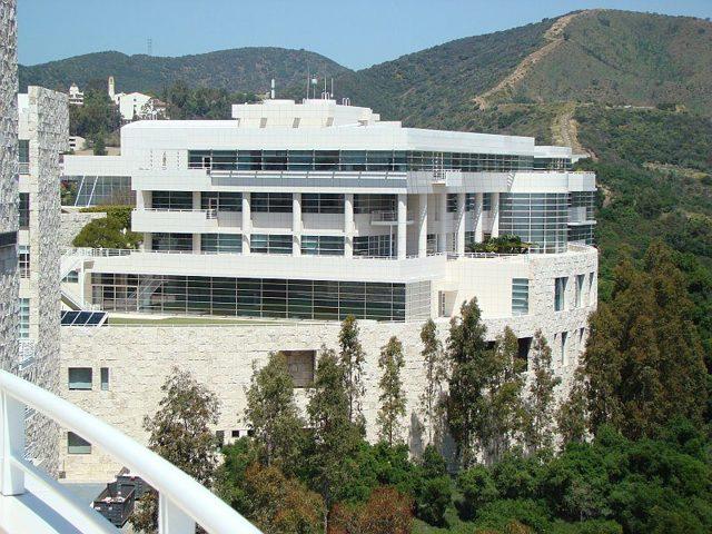 Музей Гетти, Лос-Анджелес, США