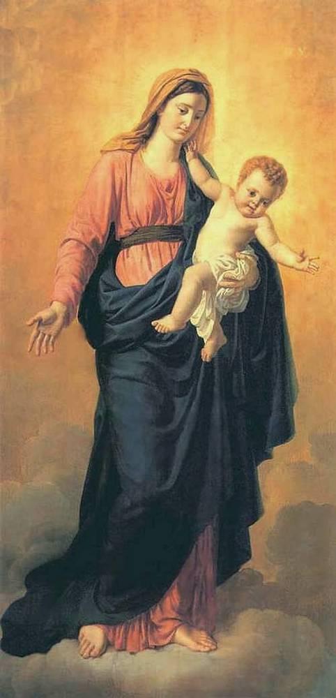 Богоматерь с младенцем, Виктор Михайлович Васнецов