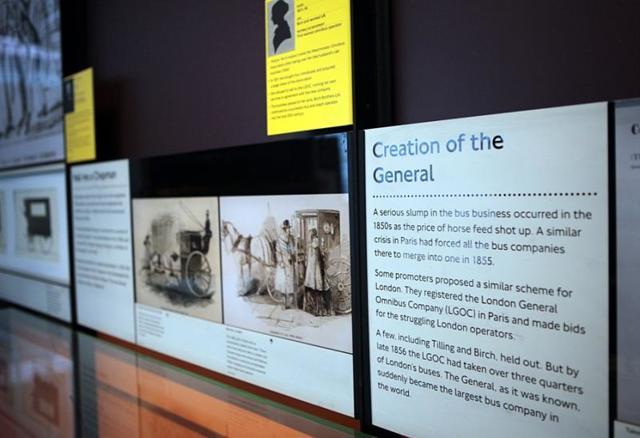 Музей истории общественного транспорта в Лондоне - фото и описание экспонатов
