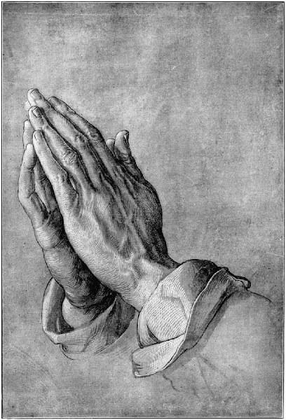 «Руки молящегося», Альбрехт Дюрер — описание картины