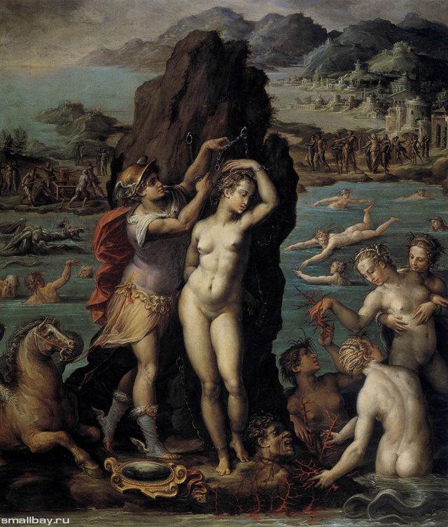 «Студия художника», Джорджо Вазари — описание