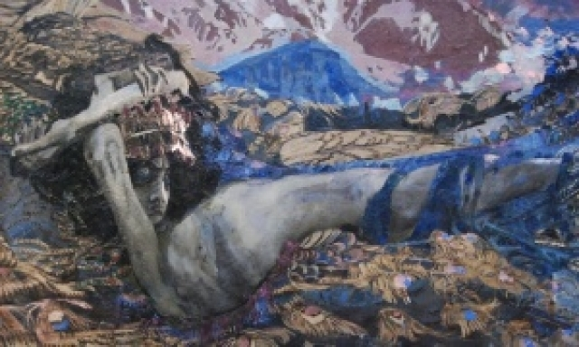 Демон поверженный, Михаил Врубель - описание картины