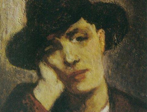 Портрет Жанны Эбютерн, Амадео Модильяни, 1919
