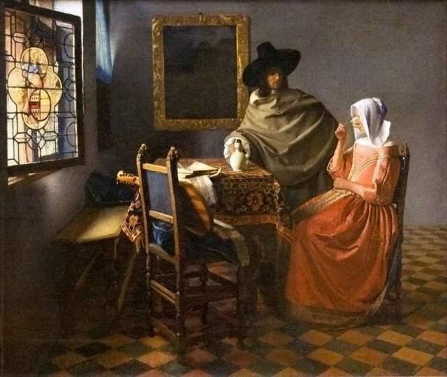 У сводни, Ян Вермеер Дельфтский, 1656