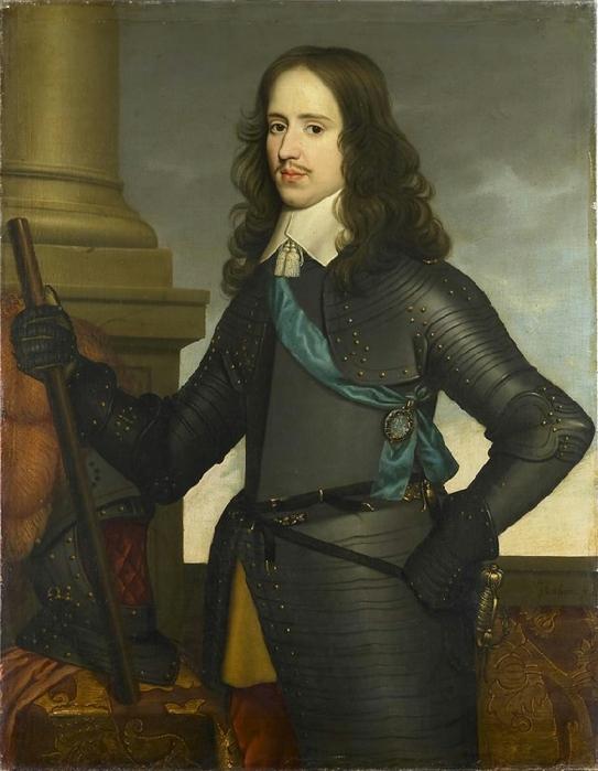 Портрет Маргариты Лотарингской, герцогини Орлеанской, Антонис ван Дейк, 1634